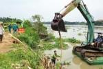 1km bờ bao sông Sài Gòn, 5 điểm sạt lở đe dọa