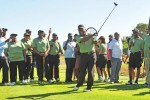Ramaphosa tees it up at presidential golf day in Cape Town