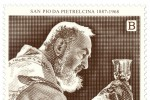 Francobollo per San Pio