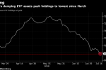 Traders Exit Gold ETFs as Dollar Leaves Metal `by the Wayside'