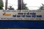Xử lý dứt điểm tồn tại của Công ty Thể dục thể thao Việt Nam