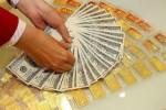 USD bật tăng, giá vàng đi ngang
