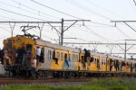 PHOTO: Metrorail trains in the Western Cape were full on Monday, as a result of the taxi strike