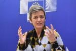 Vestager,Bankitalia decise su 4 banche