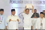 Pasca Reuni 212, Elektabilitas Jokowi-Ma'ruf Masih Unggul dari Prabowo-Sandi