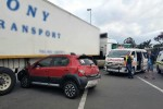 One person injured in car and truck collision in Durban