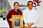 Arif Prabowo Telkom Raih Gelar Spokesperson of The Year