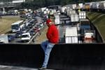 Le Brésil au bord de la paralysie avec une grève des routiers