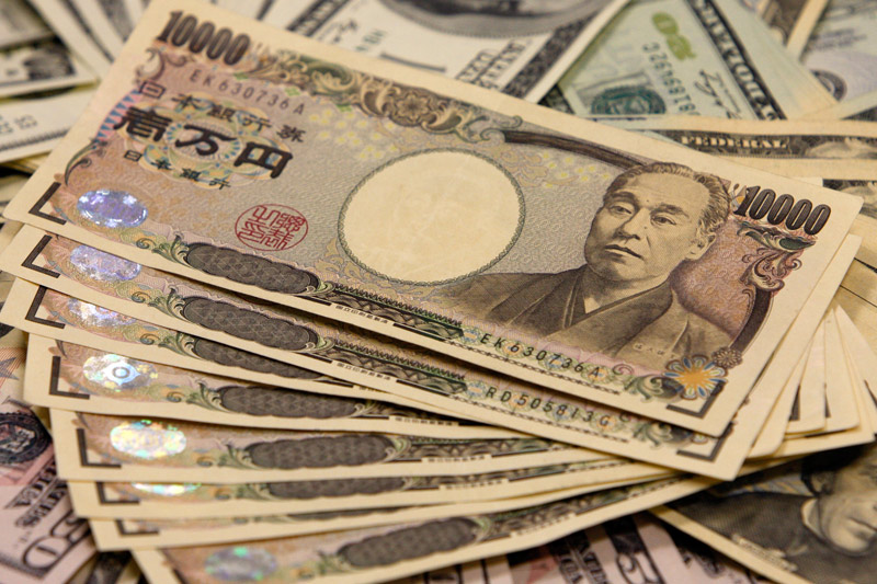 The yen strengthened against the dollar in morning trade in Asia Tuesday