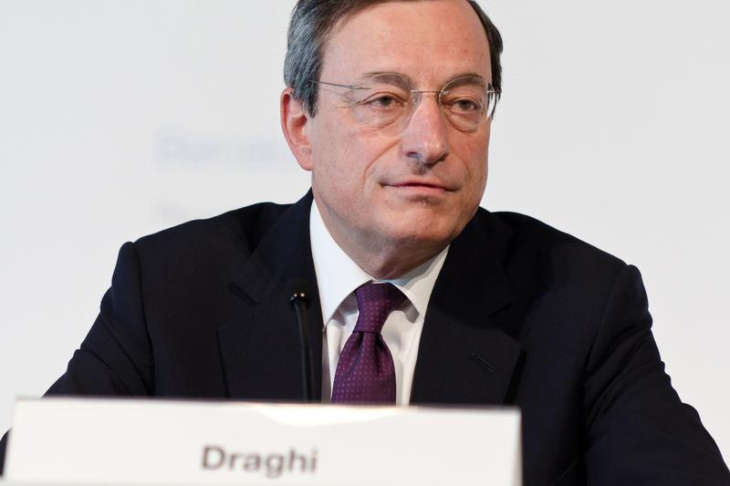 Conférence de presse de Mario Draghi, BCE