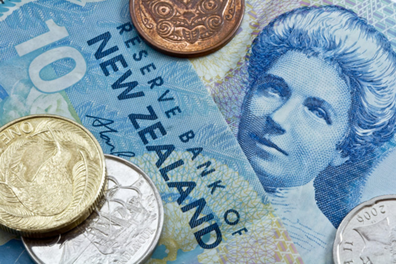 NZ dollar weaker on CPI data