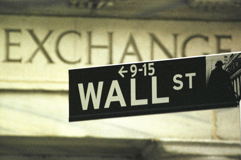 U.S. stocks lower at close of trade; Dow Jones Industrial Average down 0.08%
