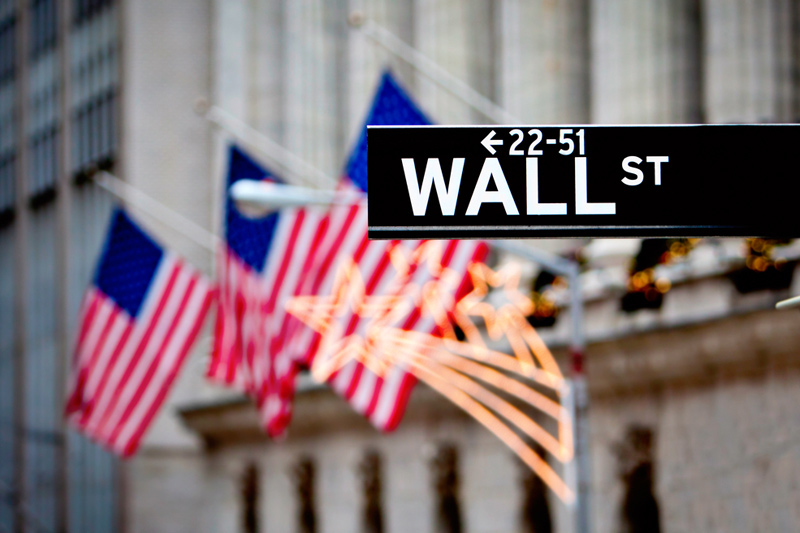 U.S. stocks higher at close of trade; Dow Jones Industrial Average up 0.50%