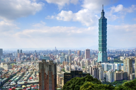 Taiwan shares lower at close of trade; Taiwan Weighted down 1.16%