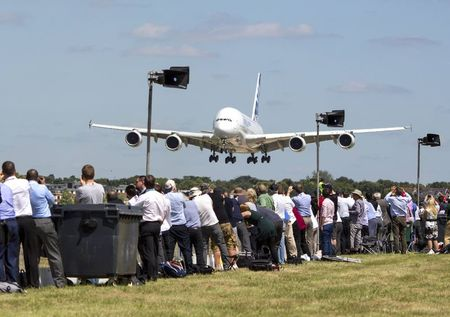 Financiers keep tills ringing at UK air show