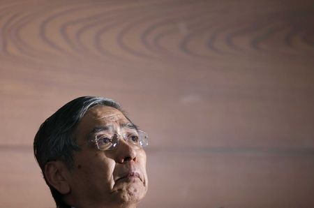 BOJ's Kuroda defends upbeat economic view despite soft data