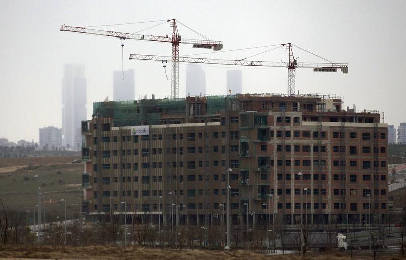© Reuters La construcción volverá a crecer en España en 2015, según un estudio
