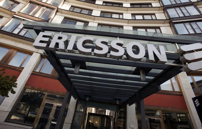 © Reuters The exterior of Ericsson's headquarters are seen in Stockholm