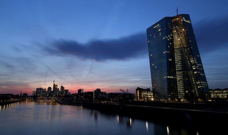 ECB committed to full QE program, sees stronger recovery
