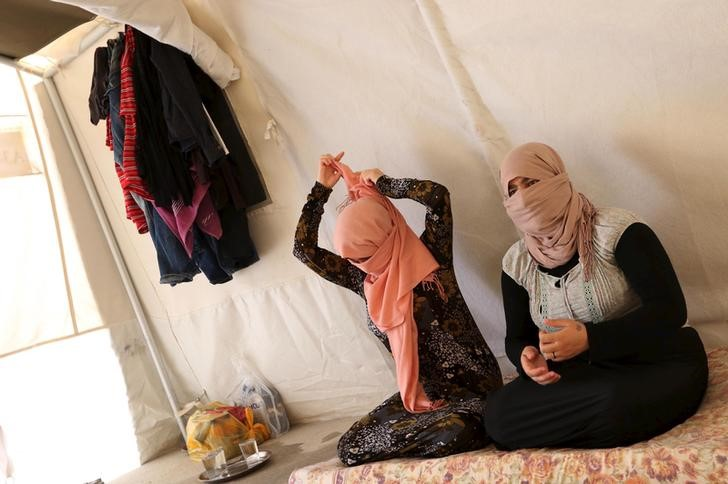 Сексуальные рабыни исламских боевиков