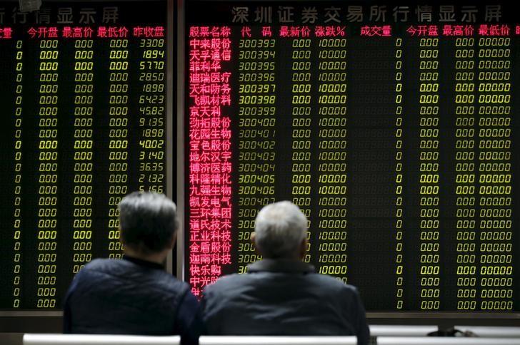Акции Шанхая достигли пика 10 месяцев на фоне признаков стабилизации экономики