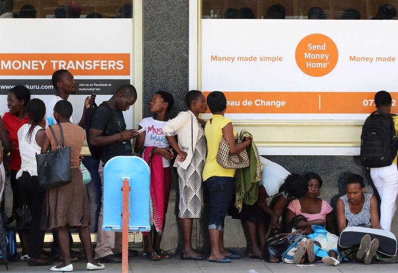As Zimbabwe's money runs out, so does Mugabe's power