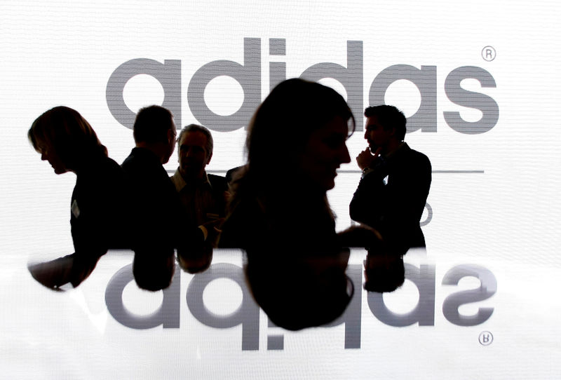 a description of the restructuring of adidas in 2008