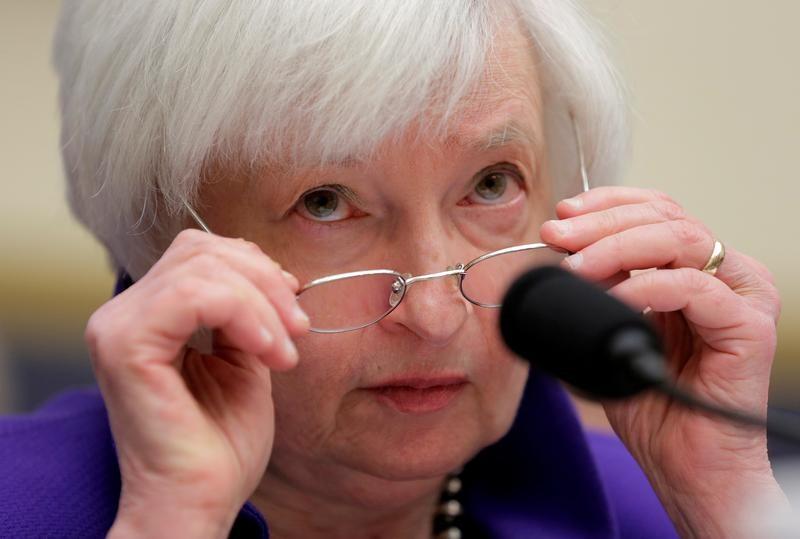© Reuters. Глава ФРС США Джанет Йеллен