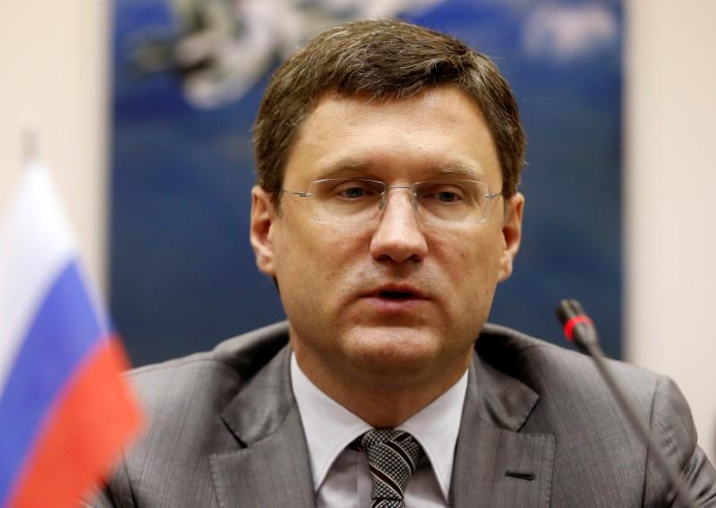 © Reuters. Министр энергетики РФ Александр Новак