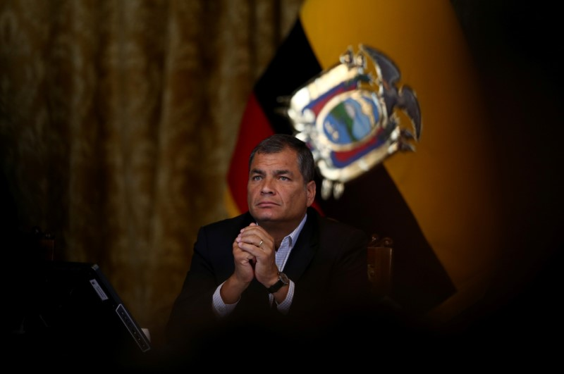 Ecuador has emerged from recession, Correa says By Reuters