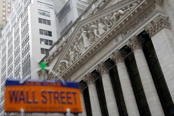 © Reuters. Фондовая биржа Нью-Йорка