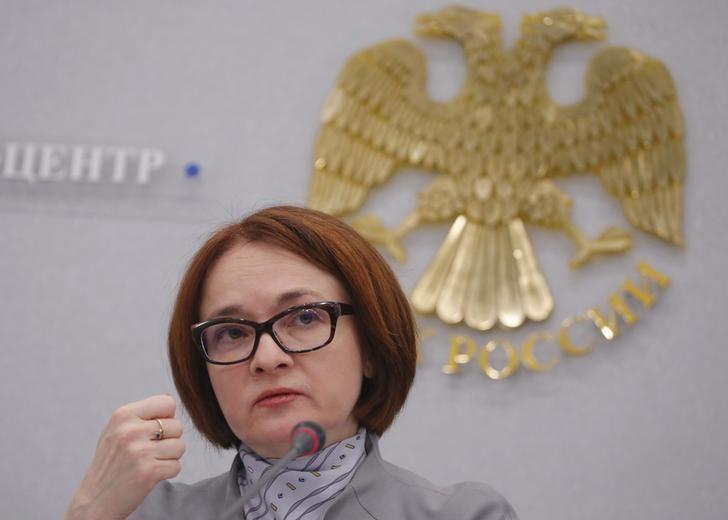© Reuters. Глава ЦБР Эльвира Набиуллина в Москве