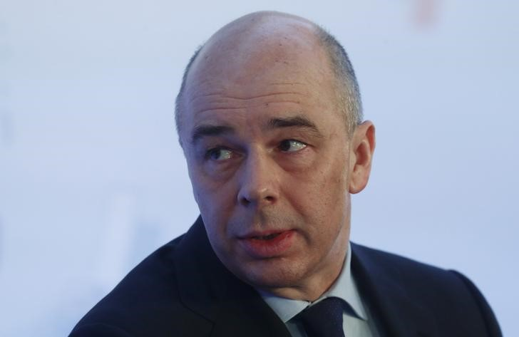 © Reuters. Russian Finance Minister Siluanov attends congress of Russian Union of Industrialists and Entrepreneurs in Moscow