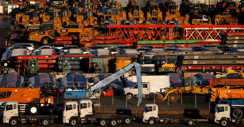 TOKYO (Reuters) - Business confidence among Japanese manufacturers was at its highest in seven months in August thanks to a firm global economy, a Reuters poll showed on Friday, but the service.