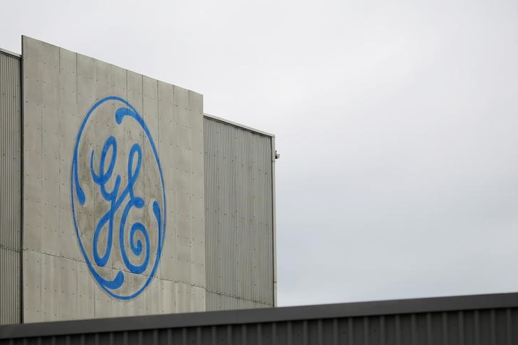 © Reuters. GENERAL ELECTRIC: BAISSE DE 1% DU CHIFFRE D'AFFAIRES AU 1E TRIMESTRE