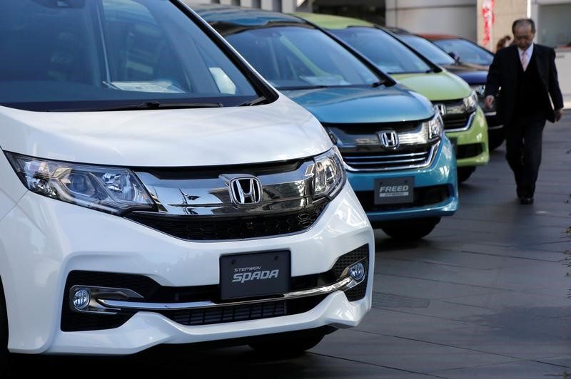 Honda forecasts lower operating profit in 2017 18 by reuters for Honda motor company stock