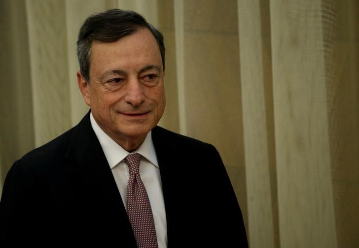 Draghi says ECB stimulus still needed despite better growth