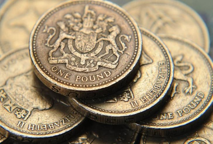 Sterling drops on projection showing risk of UK hung parliament