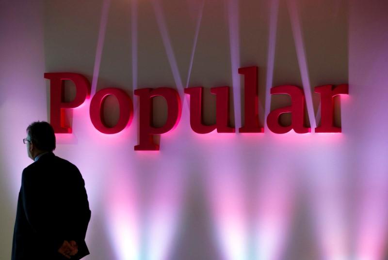 © Reuters. Santander compra Popular por un euro, ampliará capital por 7.000 mln euros para sanearlo