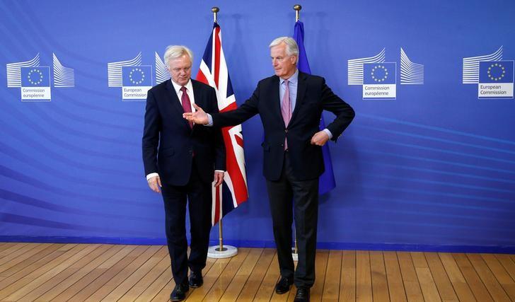 """© Reuters. Reino Unido dice buscar un vínculo """"especial"""" con la UE al negociar el Brexit"""