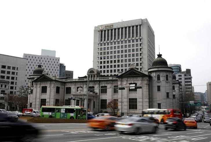 South Korea Central Bank Holds Rates At Record Low To