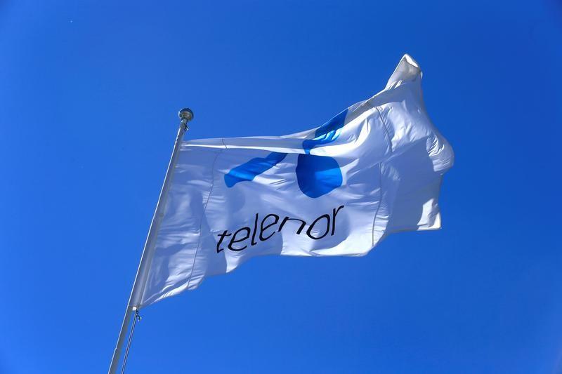 © Reuters. Telenor eleva sus previsiones de márgenes tras un fuerte segundo trimestre