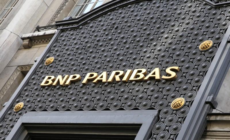 © Reuters. LA FED INFLIGE UNE AMENDE DE 246 MILLIONS DE DOLLARS À BNP PARIBAS