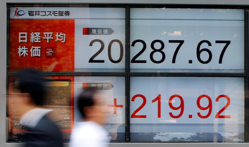 Asian shares struggle to rise, dollar slips By Reuters