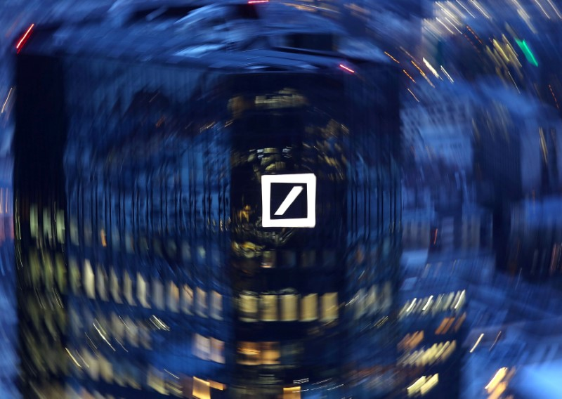 Why Deutsche Bank sees lower 2017 revenues?