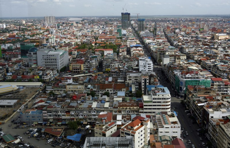 © Reuters. A view of Phnom Penh