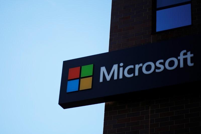 © Reuters. Prédio da Microsoft nos Estados Unidos