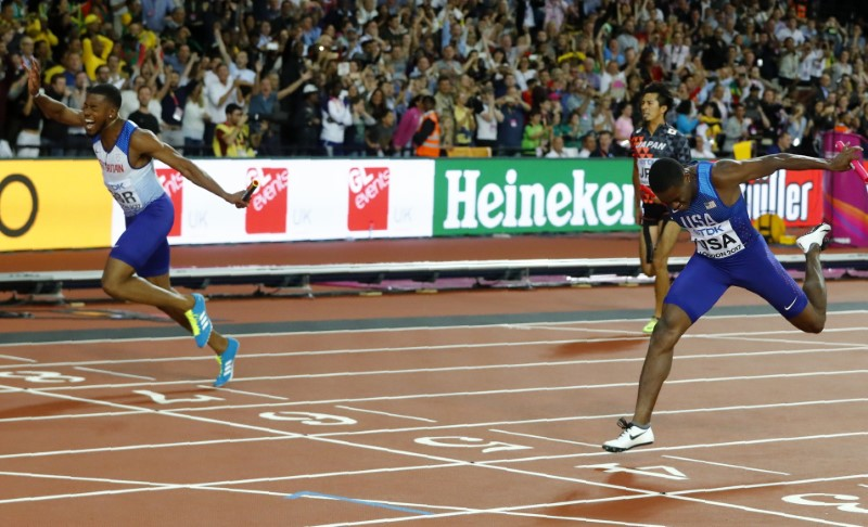 © Reuters. World Athletics Championships