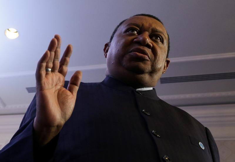 © Reuters. Геренальный секретарь ОПЕК Мохаммед Баркиндо