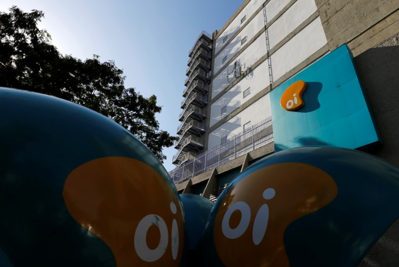 © Reuters. The headquarters of the Brazil's largest fixed-line telecoms group Oi, is pictured in Rio de Janeiro